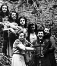 Estudiantes de la residencia Zurbarán
