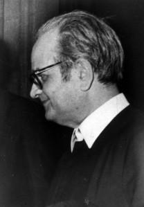 D. José María, ya enfermo